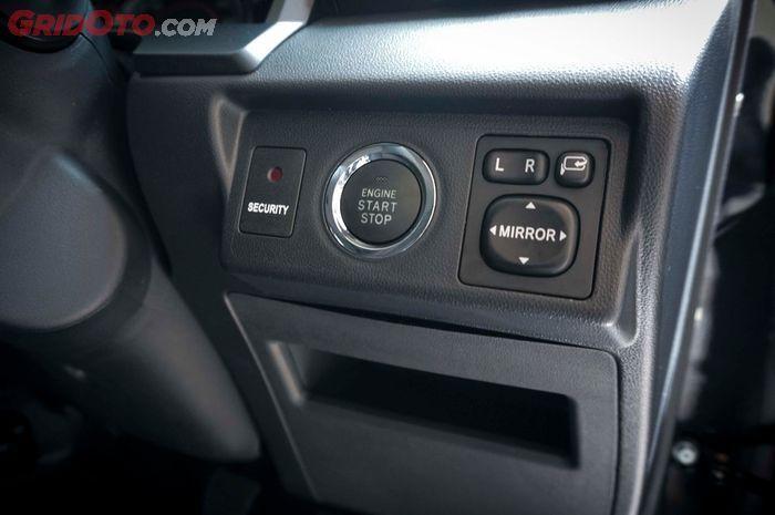 Toyota Avanza dan Veloz terbaru mendapat fitur engine start stop button