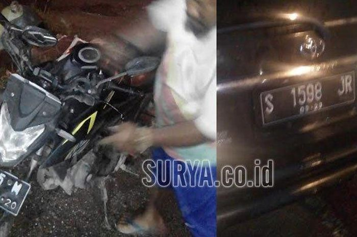 Ngeri, Terseret Sejauh 800 Meter Pengendara Motor Honda CB 150R Tewas