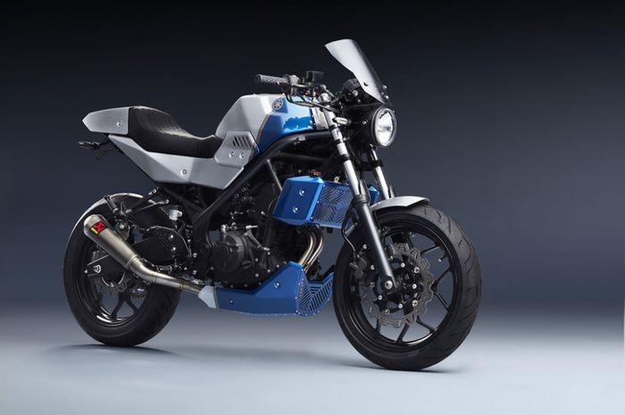 Yamaha MT-25 makin sangar modal bodi kit doang