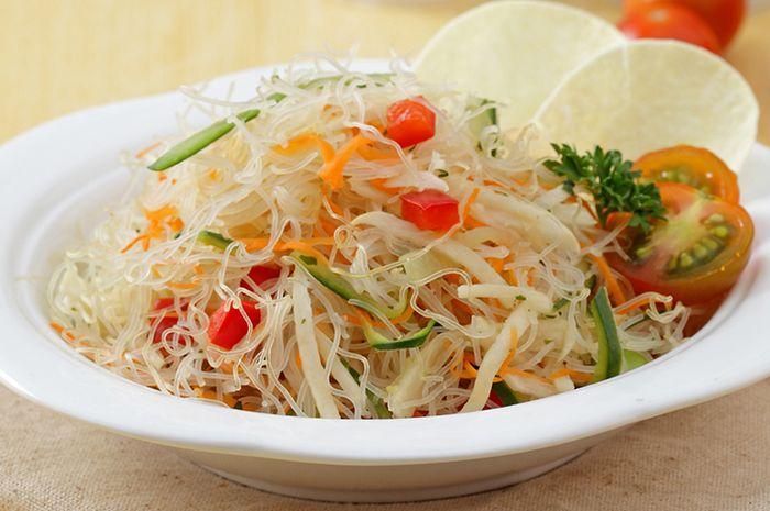 Resep Membuat Salad Bihun Sayuran