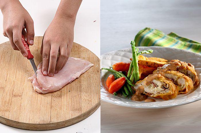 Tips Agar Chicken Cordon Bleu Tidak Mentah Di Tengah, Ini 4 Kesalahan Yang Harus Dihindari