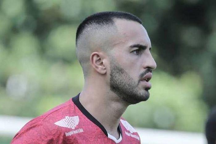 Pemain asing Bali United, Brwa Nouri.
