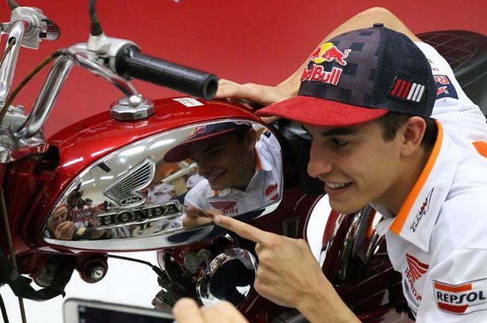 Marc Marquez akan pertamakali ke Bandung