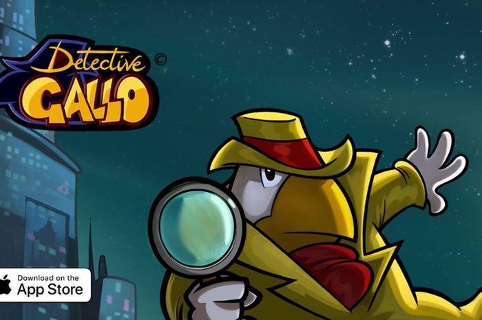 Game Petualangan 'Detective Gallo' Siap Hadir di App Store