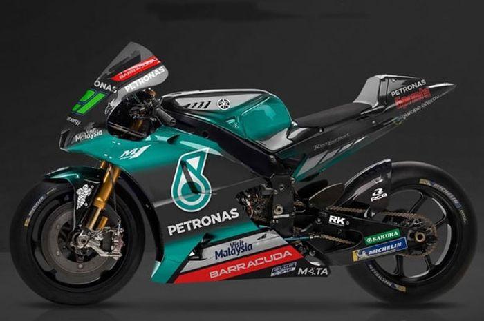 Inilah penampakan Yamah M1 Petronas Yamaha SRT.