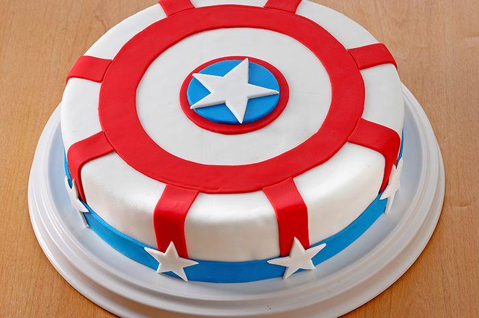 Resep Membuat Kue Ulang Tahun Captain America