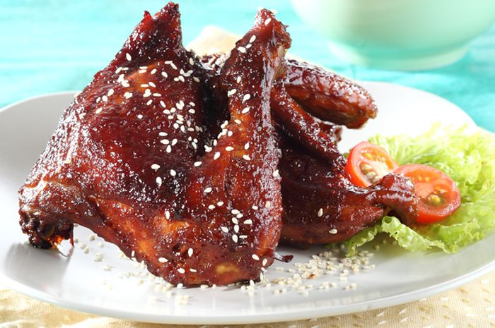 Ayam Panggang Bumbu Tiram