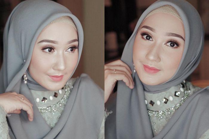Inspirasi Kebaya Bridesmaid Hijab Ala Dian Pelangi Simpel Tapi