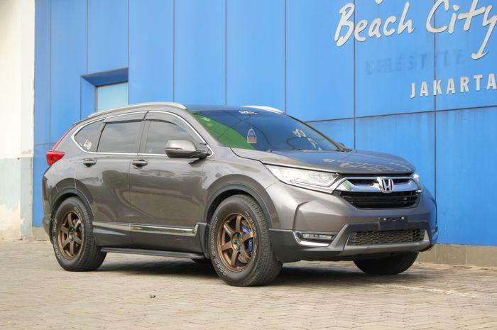 Honda CR-V Turbo 2018, jadi Kelinci Percoban Modifikasi