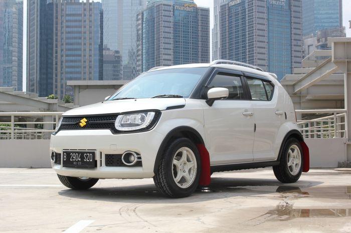 Suzuki Ignis, modifikasi hasil kolaborasi ayah dan anak