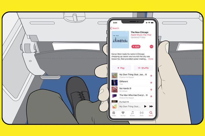 Pengguna Apple Music Bisa Streaming Gratis di Penerbangan American Airlines