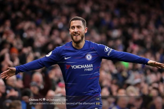 Chelsea striker Eden Hazard was to leave according to Stamford Bridge.