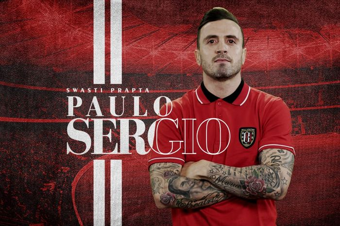 Paulo Sergio resmi jadi pemain baru Bali United.