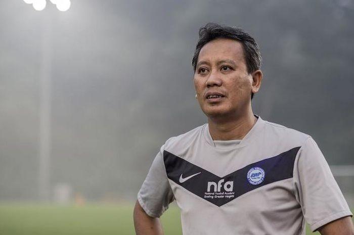 Pelatih Home United, Saswadimata Dasuki.