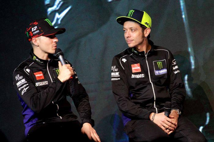 Maverick Vinales senang dengan pertemanannya bersama Valentino Rossi