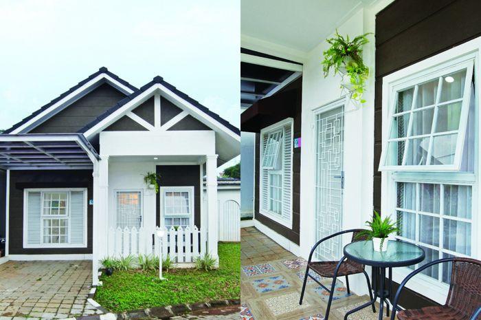 Desain Rumah Minimalis Dengan Halaman Luas inspirasi desain rumah mungil 55 m2 terasa luas walau hanya