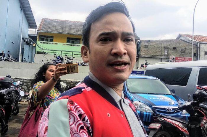 Ruben Onsu saat ditemui Grid.ID di kawasan Tendean, Mampang Prapatan, Jakarta Selatan, Selasa (5/2/2019).