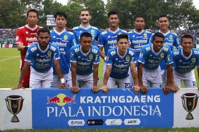 Skuat Persib Bandung di Piala Indonesia 2018.