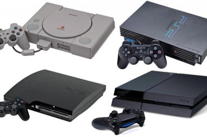 Konsol PS1 sampai PS4
