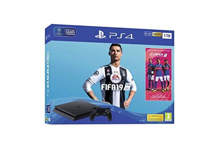 PlayStation 4 FIFA 19 edition.