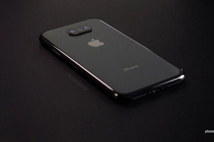 Gambar Konsep iPhone 11 dengan iOS 13 + Dark Mode