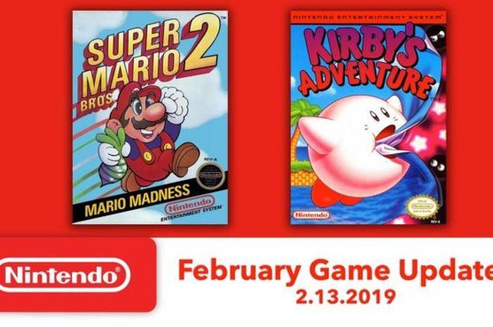 Game Nintendo Switch Online Februari