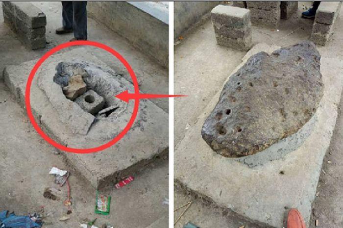 Batu meteorit di Cina