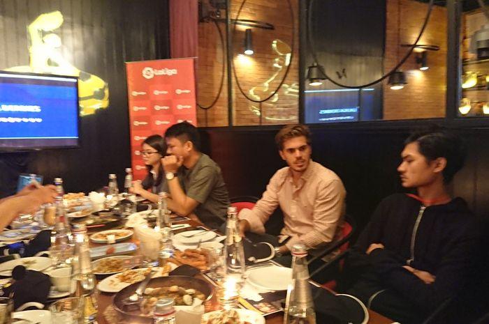 Rodrigo Gallego, Delegate of LaLiga Global Network Indonesia, di acara makan malam eksklusif, A Tapas Evening with LaLiga di Jakarta Selatan.