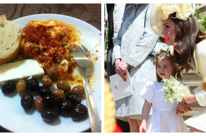 Kate Middleton Beberkan Makanan Favorit Putri Charlotte yaitu buah zaitun.