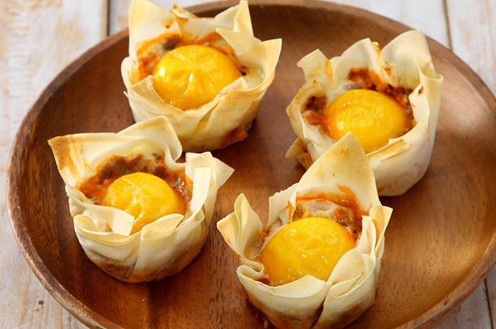 Resep Membuat Mangkuk Telur Daging