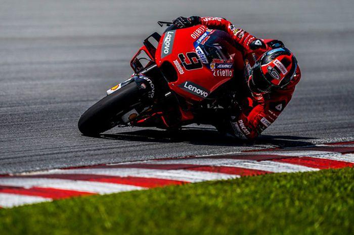 Danilo Petrucci mengamuk di tes pramusim MotoGP 2019 hari ketiga, (8/2/2018)