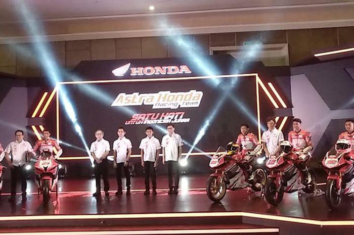 Launching tim AHRT musim 2019 di Bandung, (9/32/2019)