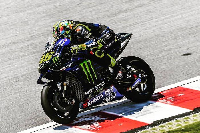 Valentino Rossi dikalahkan telak dua muridnya di tes pramusim MotoGP 2019 Sepang, (8/2/2019)