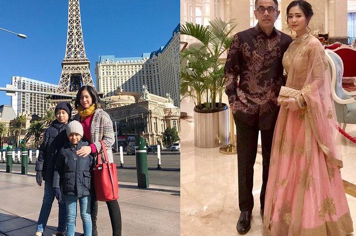 Bunga Zainal Dulu Langganan Tutupi Wajah Suami Pakai Stiker, Intip 5 Potret Kemesraannya dengan Suami yang Kini Sudah Berani Diumbar