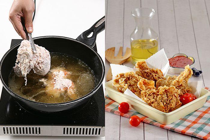 Cara Membuat Ayam Goreng Tepung Yang Renyah Maksimal Ala Resto Fast Food, Ternyata Ini Dia Triknya!
