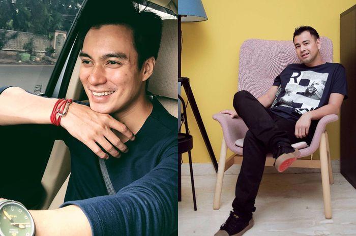 Penampilan Raffi Ahmad dan Baim Wong Saat Menjemput Rezeki ke Bali