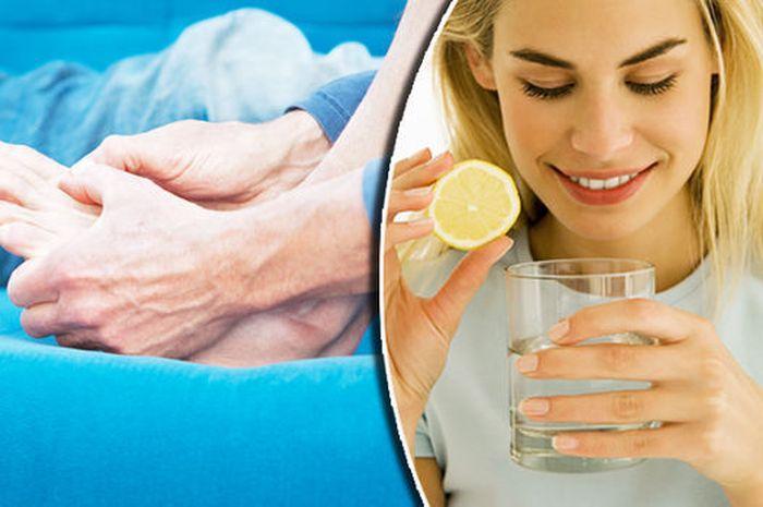 cara obati asam urat dengan jus lemon