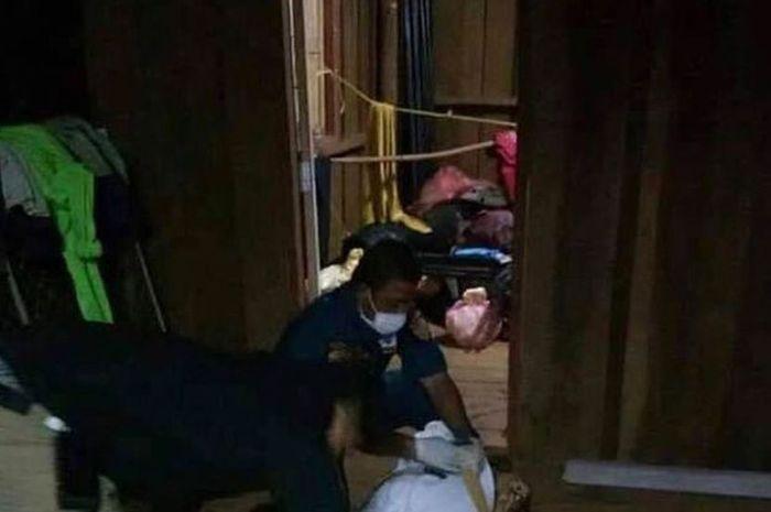Seorang pria tega membunuh istrinya setelah meninggalkannya selama 10 tahun
