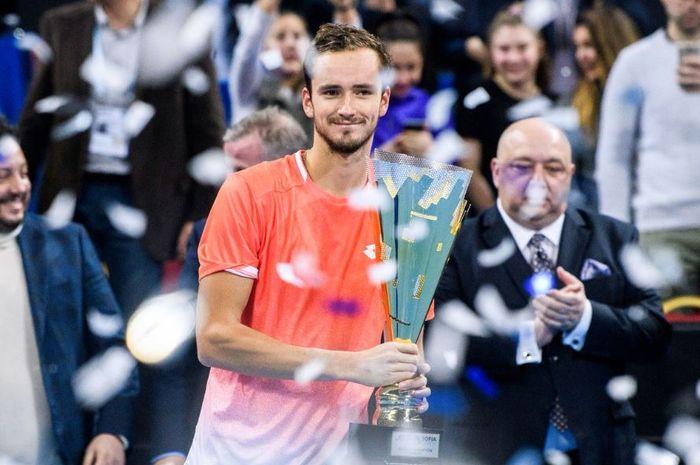 Daniil Medvedev menangi Sofia open 2019 pada minggu (10/2/2019)