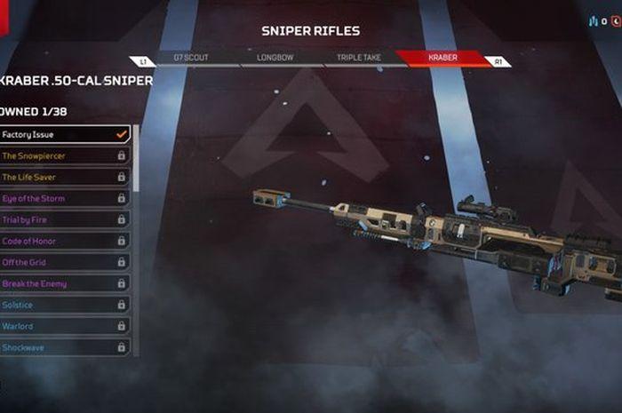 Kraber .50-CAL Sniper - Apex Legends