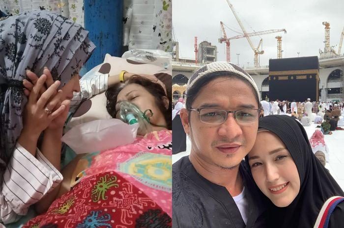 Adelia Pasha kirim doa untuk Okie Agustina dari Mekkah