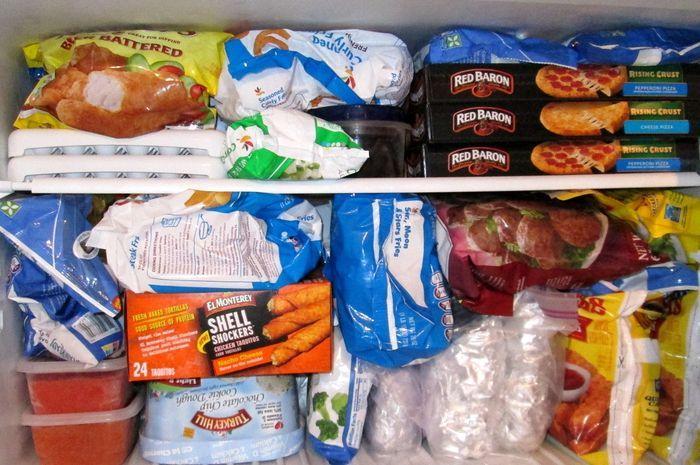Gizi makanan beku atau frozen food dibanding makanan segar