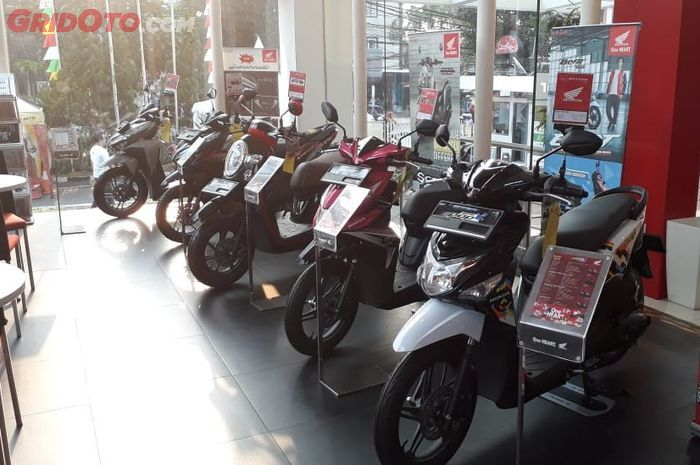 Ilustrasi produk matik Honda