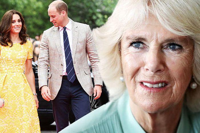 Camilla pernah meminta Pangeran William meninggalkan Kate Middleton
