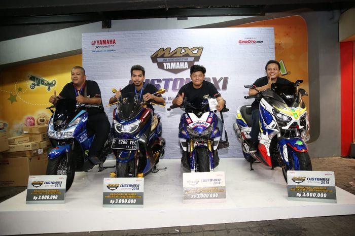 Pemenang Yamaha Customaxi Bandung 2019 (10/2/2019)