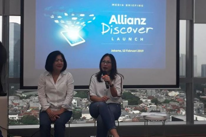 Karin Zulkarnaen selaku Head of Market Management Allianz Indonesia saat ditemui Grid.ID pada peluncuran Aplikasi Allianz Discover di Allianz Tower, Rasuna Said, Jakarta Selatan. Selasa (12/2/2019).