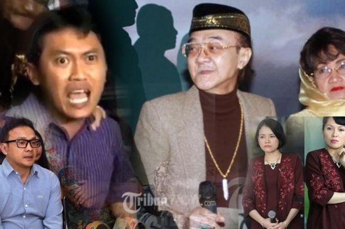 Arya Wiguna, Adi Bing Slamet, Eyang Subur besertia istri-istrinya