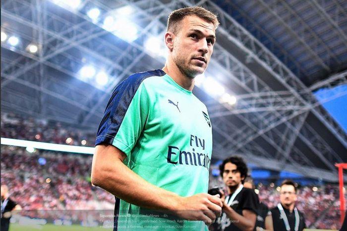 Gelandang Arsenal, Aaron Ramsey, setuju bergabung dengan Juventus pada bursa transfer musim panas 2019.