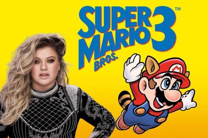 Kelly Clarkson Hobi Main Super Mario 3