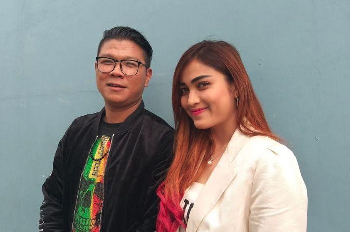 Andika Mahesa dan Evelyn Kremes saat ditemui Grid.ID di kawasan Tendean, Jakarta Selatan, Rabu (13/2/2019).